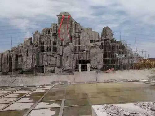 河南塑石假山设计