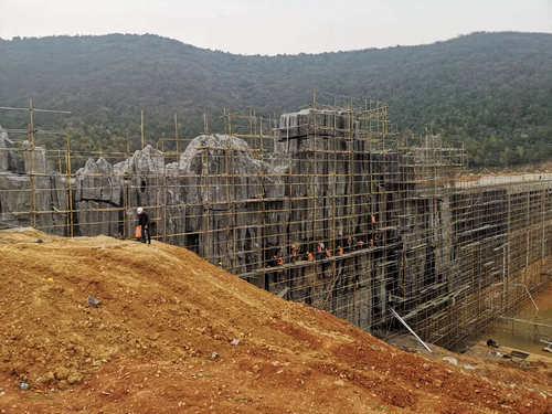 针对假山工程在进行施工的时候具体有哪些流程呢