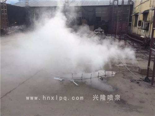 河南人造雾工程公司