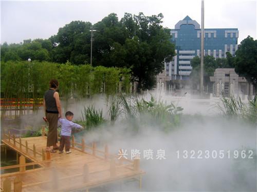 晋城威龙城雾森景观