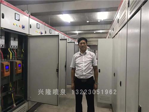 喷泉控制柜安装实景