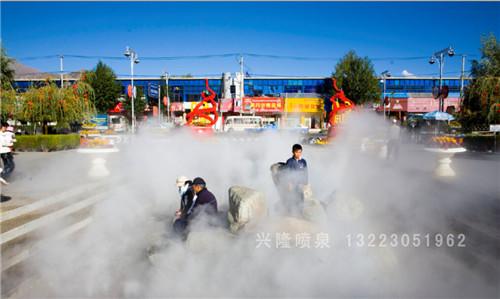 河南人造雾工程
