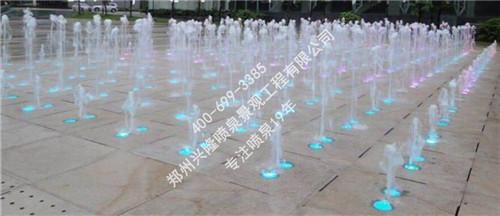 河南音乐喷泉设计工程