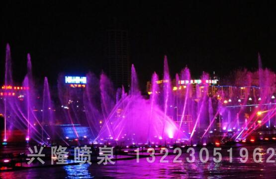 河南湖面喷泉设计