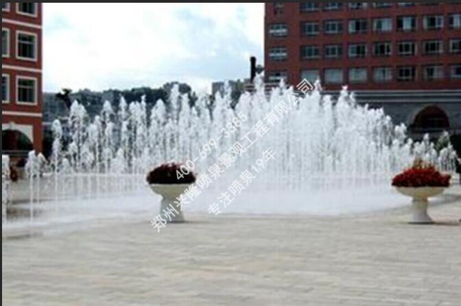 河南旱式喷泉