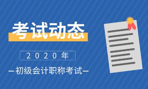 2020年初级会计考试