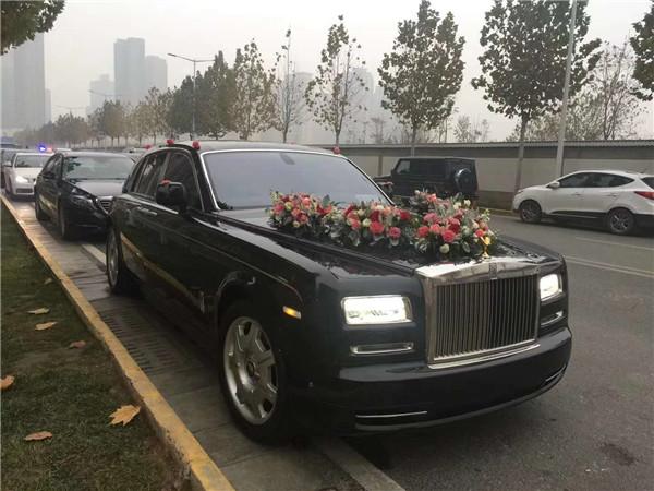 汉中婚车租赁案例