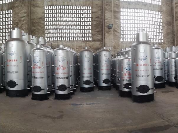 四川鍋爐-立式燃油氣鍋爐