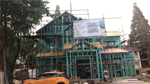 陕西新型房屋建设