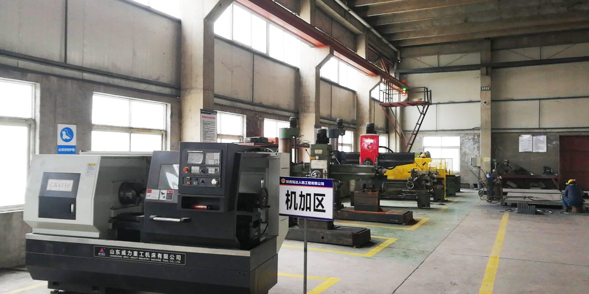 人防防护设备生产加工数控机床展示