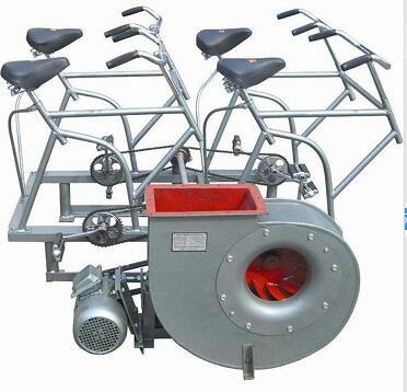 脚踏电动两用风机