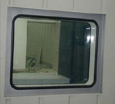 密闭防火观察窗的制作方法
