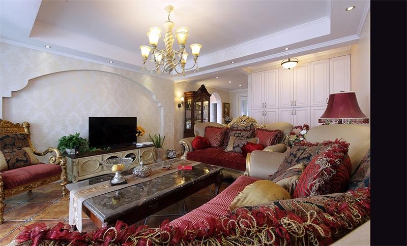 白银美式新房装修设计