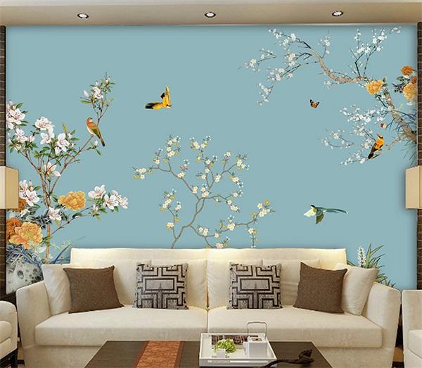 白银软包背景墙装饰