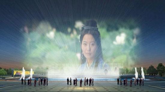 四川水幕电影