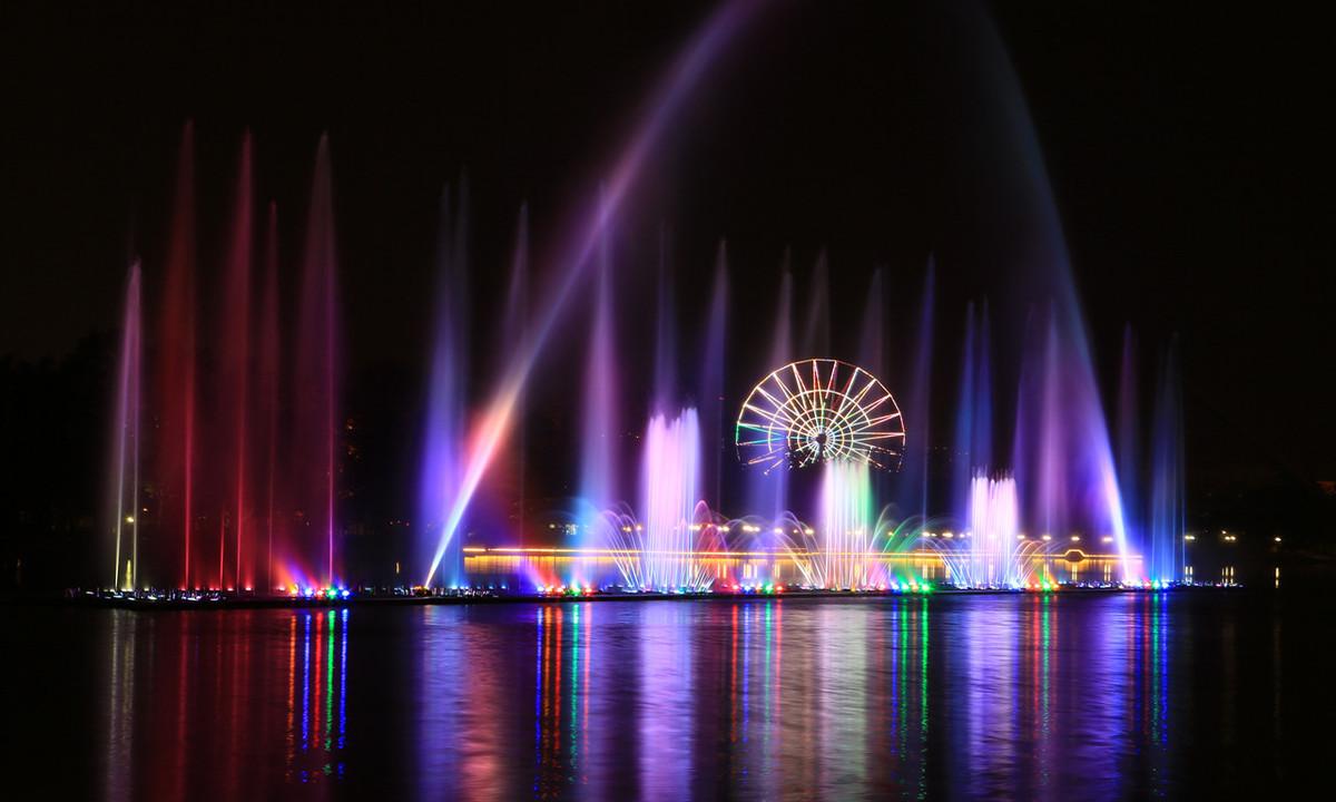 水上音乐喷泉
