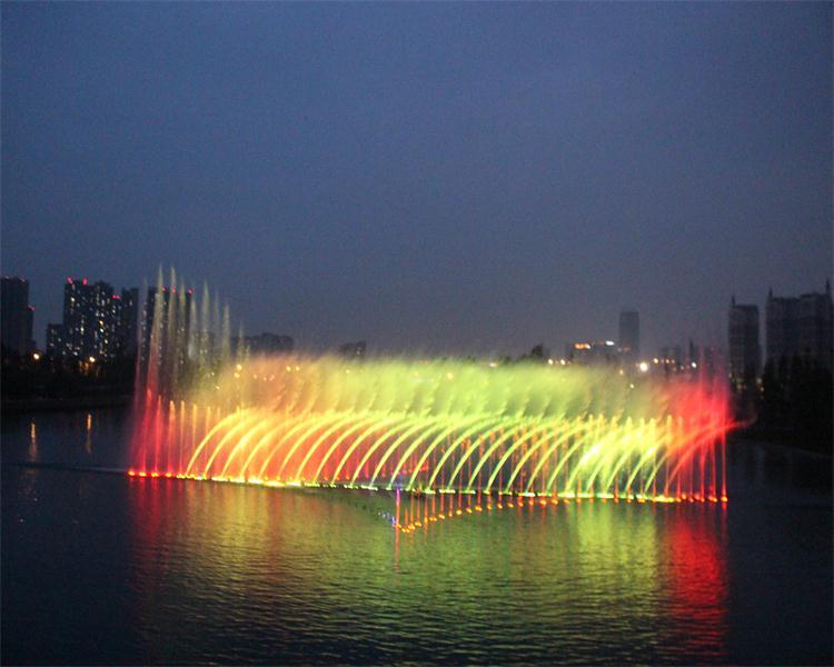 成都新川之心音乐喷泉