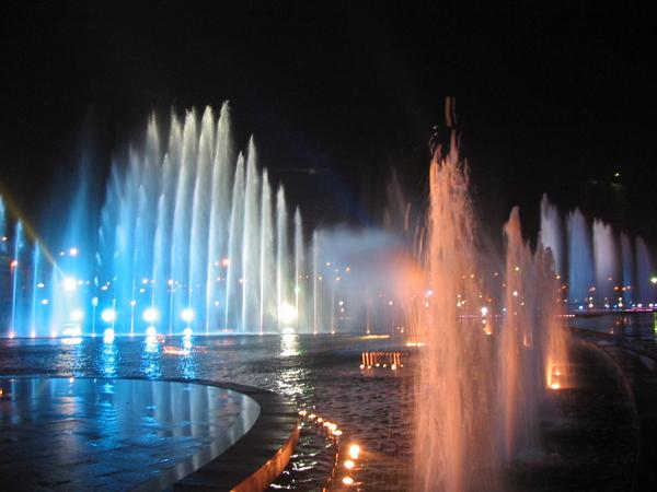 四川水上音乐喷泉施工