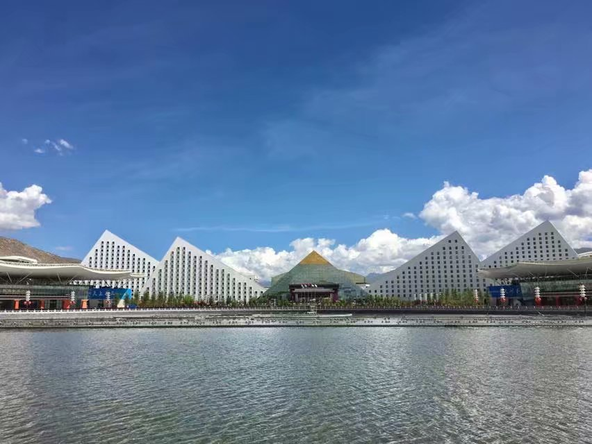 拉萨会展音乐喷泉