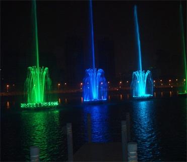 四川水上音乐喷泉设计