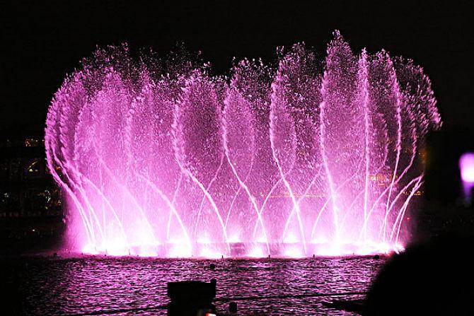 四川水上音乐喷泉