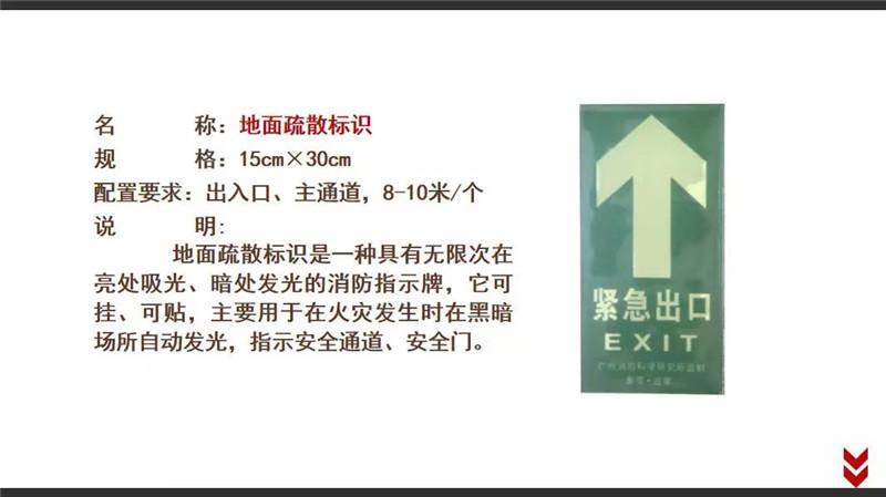 四川消防基础器材-疏散标识