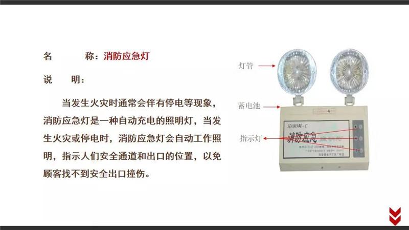 四川消防基础器材-消防应急灯