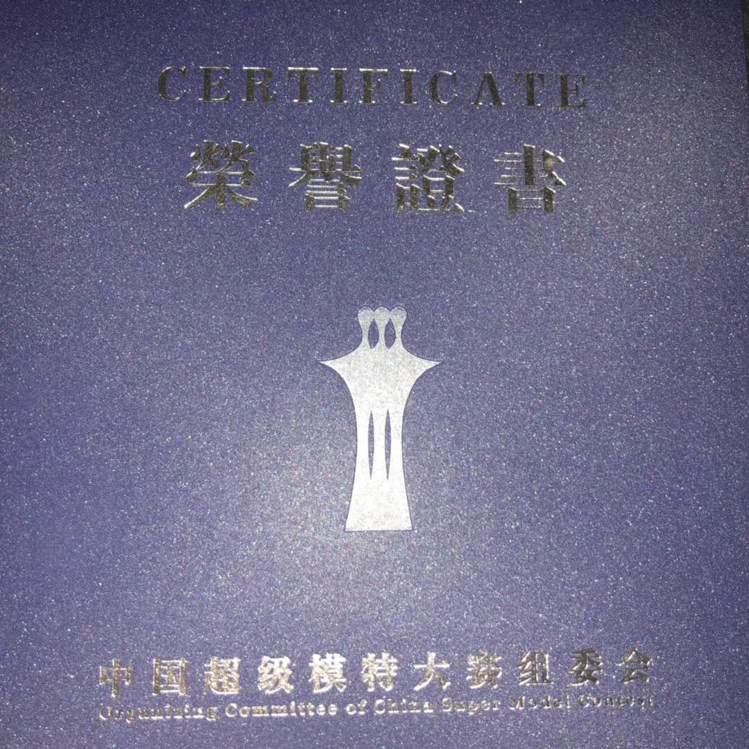陕西芽色文化传播荣誉证书