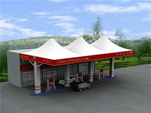 河南膜结构加油站价格