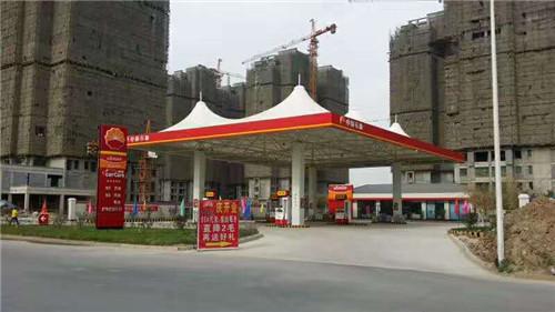河南膜结构加油站