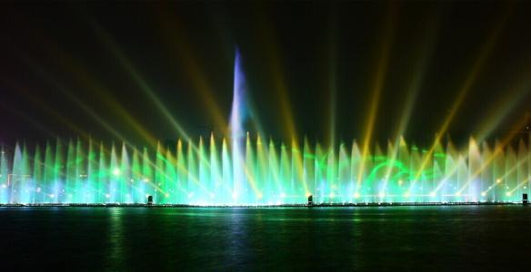 河南激光水舞秀施工