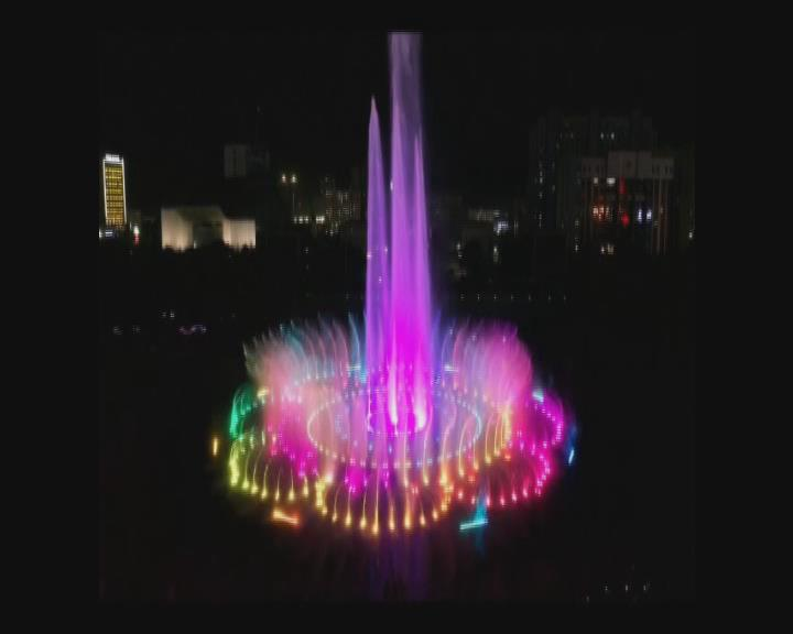 河南激光水舞秀-庆阳市和谐广场