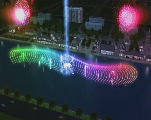 河南音乐喷泉施工公司