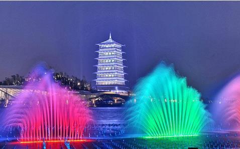 河南音乐喷泉的表现形式以及使用优势