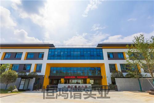 曲江第六小学电动平移门,站台岗亭项目