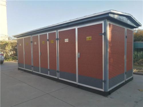 西安市长安区厂区金属雕花板配电箱