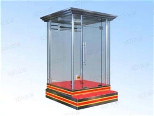 站台玻璃岗亭