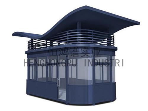 钢结构岗亭生产