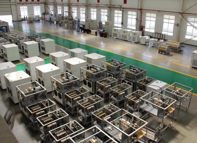 企业生产研发厂房图
