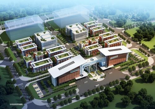 西安沣东新城协同信息港办公楼