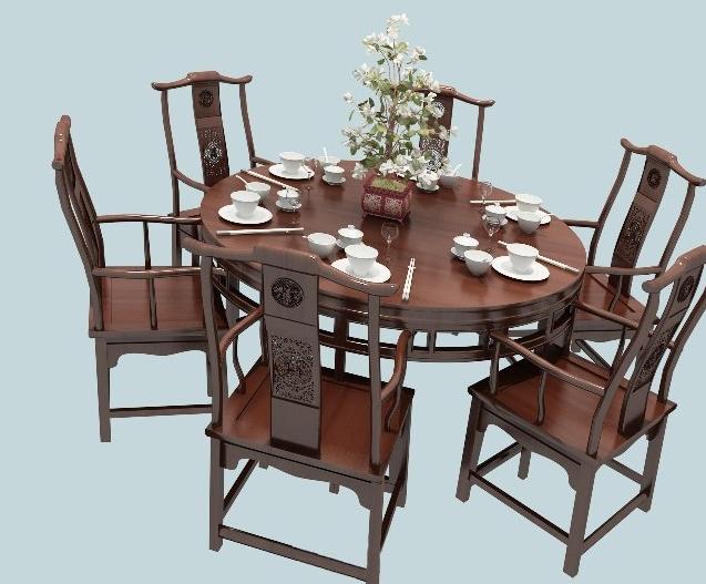 成都中餐桌椅特点