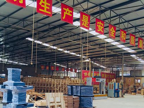成都餐飲家具生產廠家廠區展示