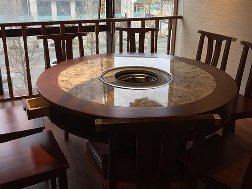 現代中式火鍋桌