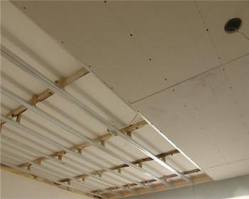 石膏板吊顶施工图