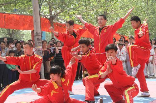 武术学校学习