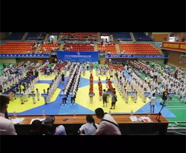 武状元教育预祝2019中国恩施国际跆拳道公开赛圆满成功