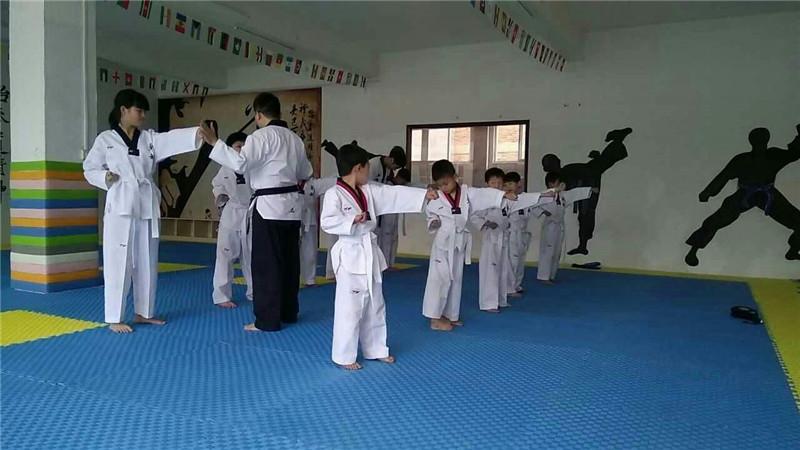 少儿跆拳道学习