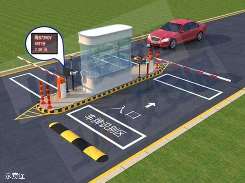万峰小区合作客户停车场收费系统