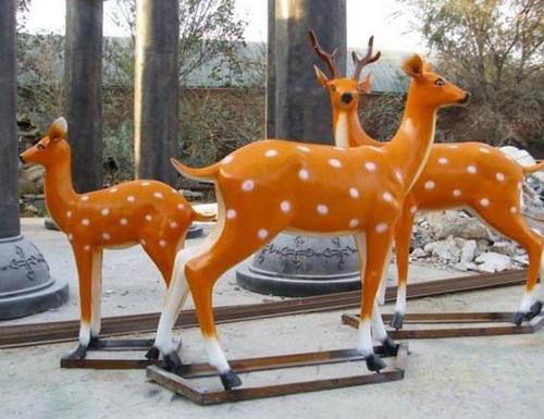 河南玻璃钢雕塑工程合作案例