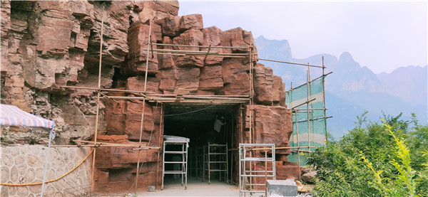 河南假山工程合作案例
